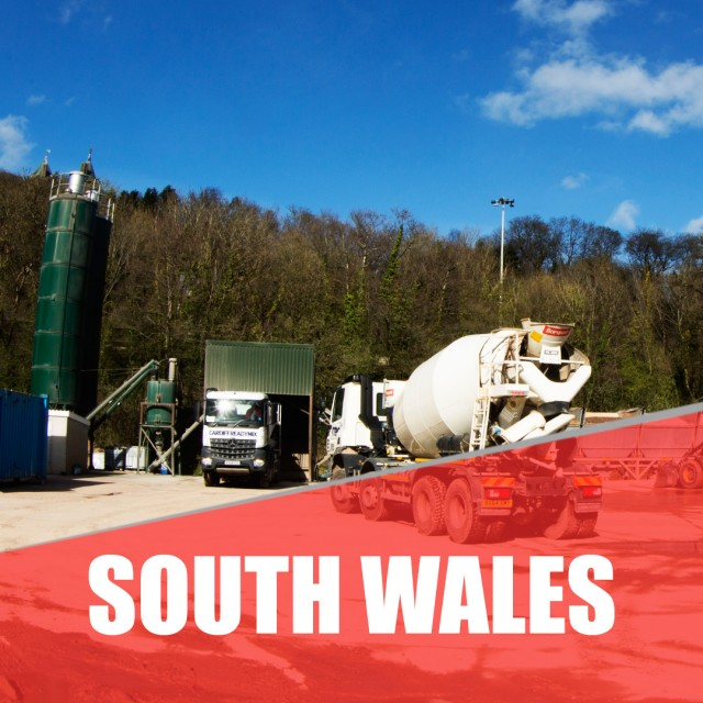 CONCRETE SUPPLIERS SOUTH WALES
